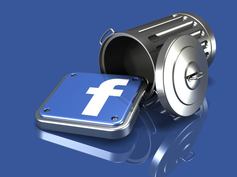 Facebook account verwijderen