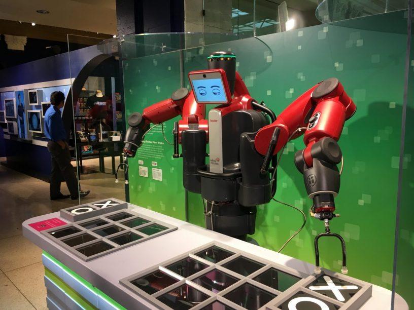 Robot revolutie ver verwijderd